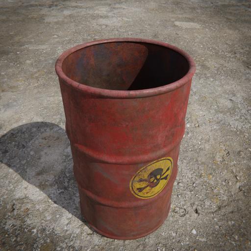 Thumbnail: Toxic Barrel - Red