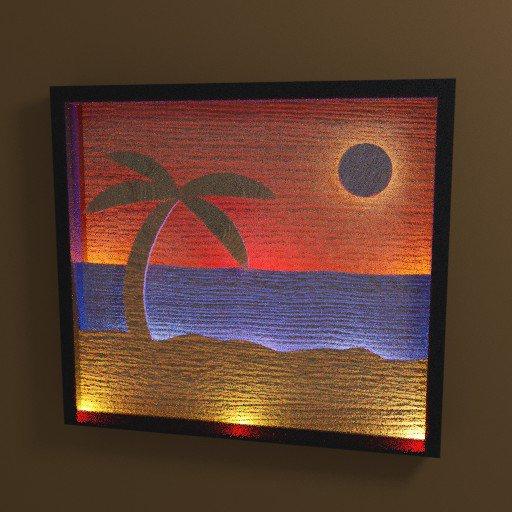 Thumbnail: Beach Scene Light Box