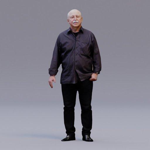 Thumbnail: 3D soul - standing man - Karel