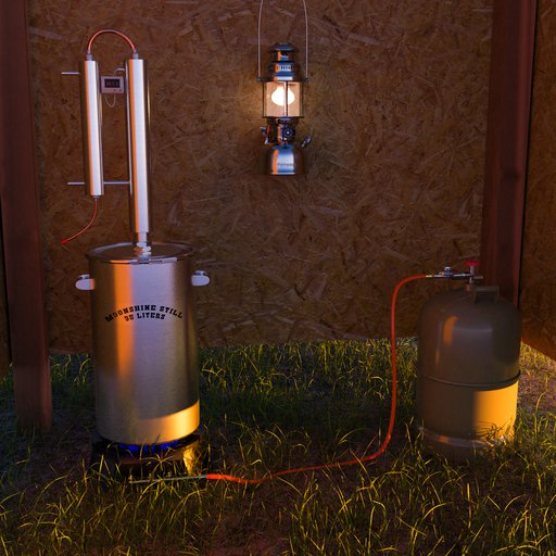 Moonshine Still 35 Liters