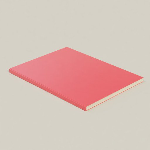 Thumbnail: Book A4 1cm Thickness