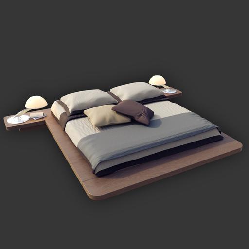Thumbnail: Modern Bed
