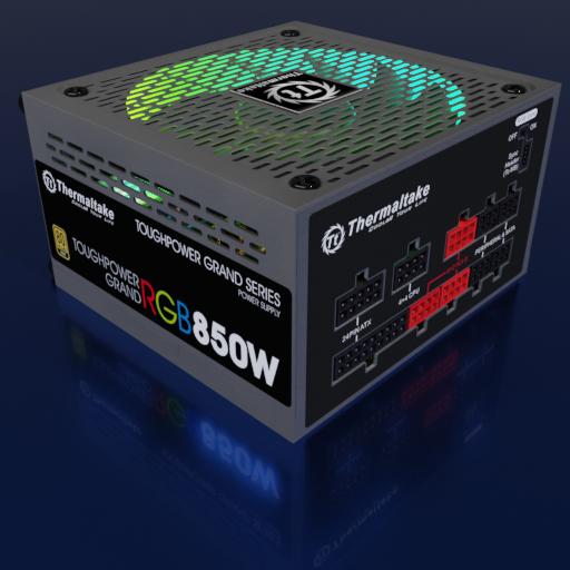 Thumbnail: Thermaltake Toughpower Grand RGB 850W Gold (RGB Sync Edition)