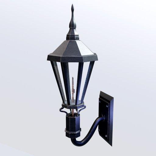 Thumbnail: Wall Gas Lamp