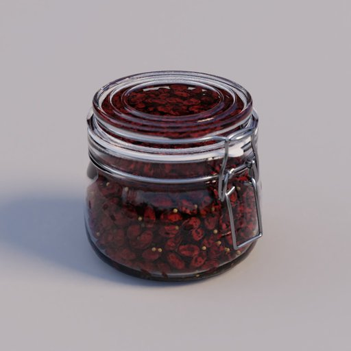 Thumbnail: Jar small with goji