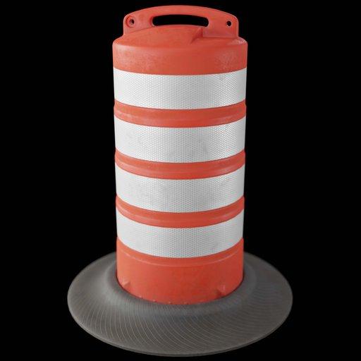 Thumbnail: Traffic Barrel