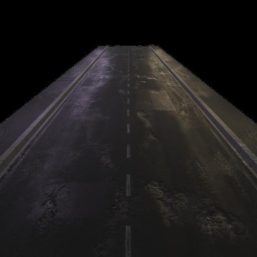 Thumbnail: Road module damaged