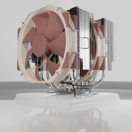 CPU cooler Noctua NH-D15.