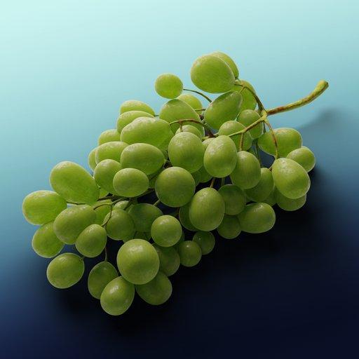 Thumbnail: Grapes White