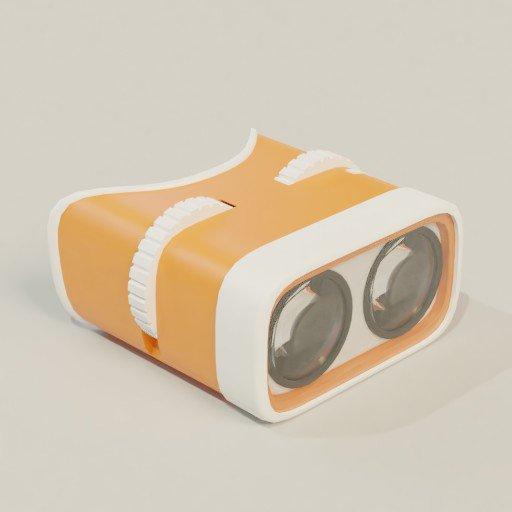 Stylised binocular