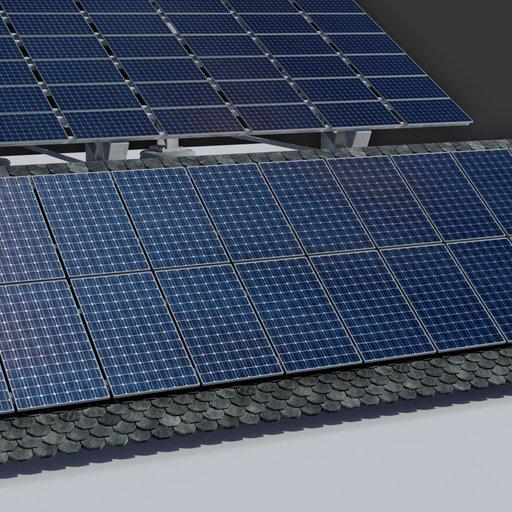 Thumbnail: 6kw Roof Solar Panels Array