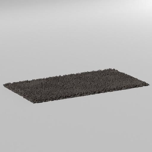 Thumbnail: long hair carpet 1.5x.8m grey