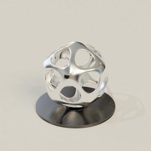 Thumbnail: Steel Art Decoration