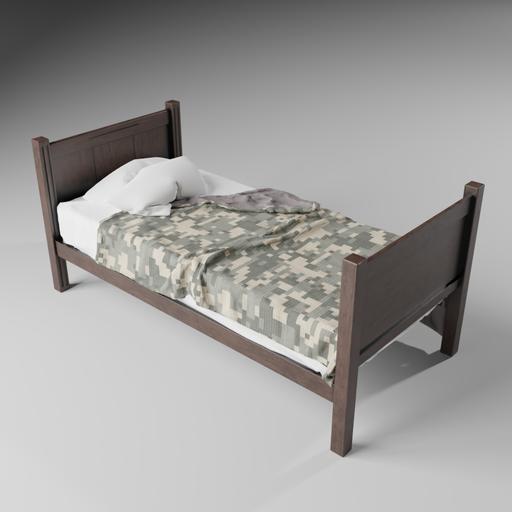 Thumbnail: Simple Single Bed
