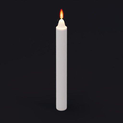 Thumbnail: burning candle