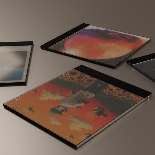 Thumbnail: CD case template
