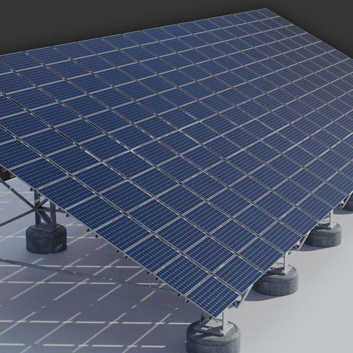 Thumbnail: 65kw Solar Panels Structure