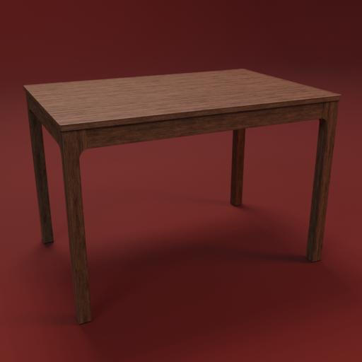 Thumbnail: IKEA EKEDALEN table 120 wood