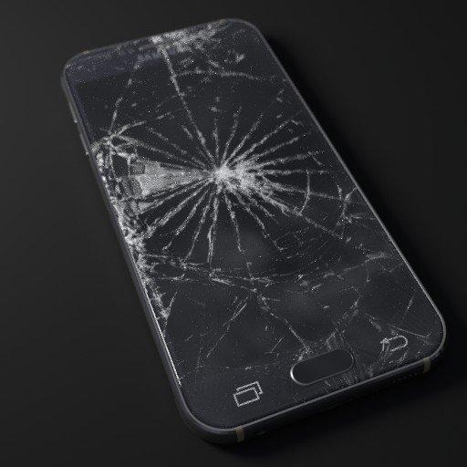 broken Samsung S6