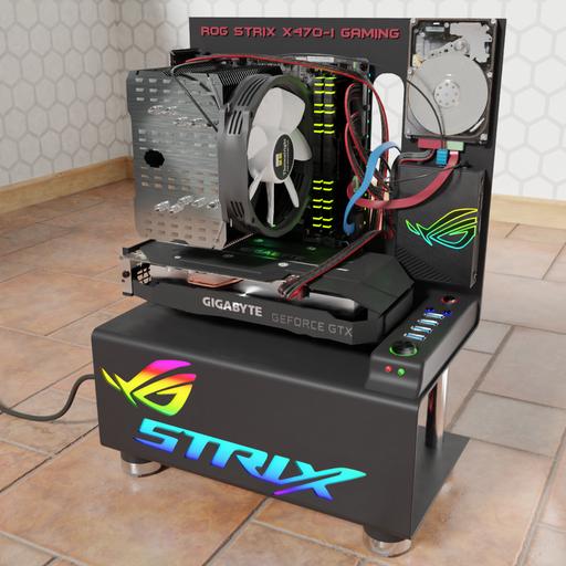 Thumbnail: ASUS ROG STRIX x470-i