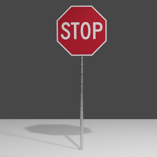 Thumbnail: Stop  sign