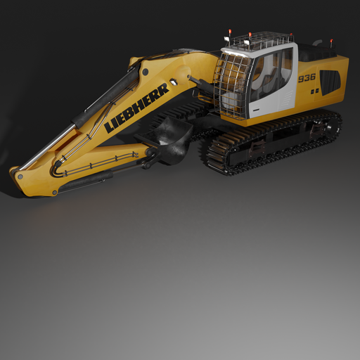 Thumbnail: LIEBHERR 936 excavator.
