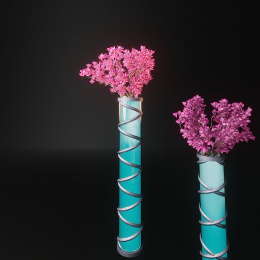 Planter light post