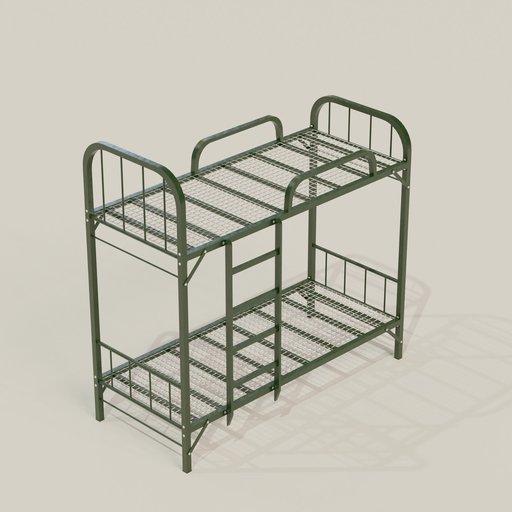 Thumbnail: Prison Double Bed