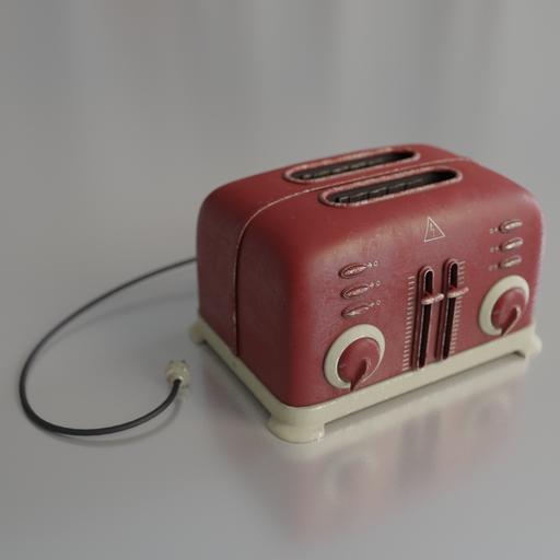 Thumbnail: Toaster in retro style