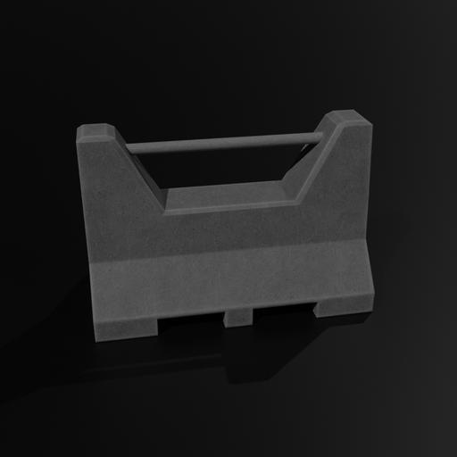 Thumbnail: Barricade #1 (concrete, new, centrelift)