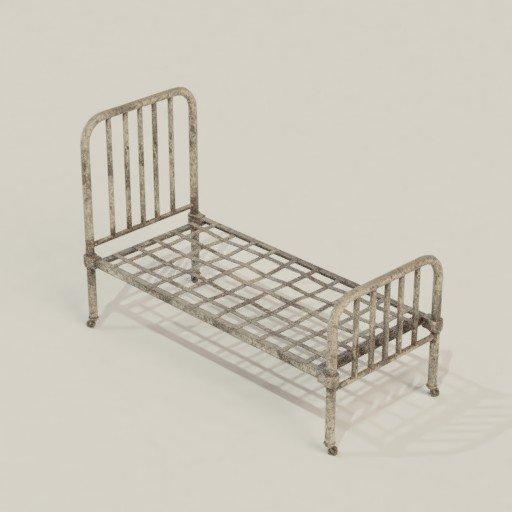 Thumbnail: Old Hospital Bed