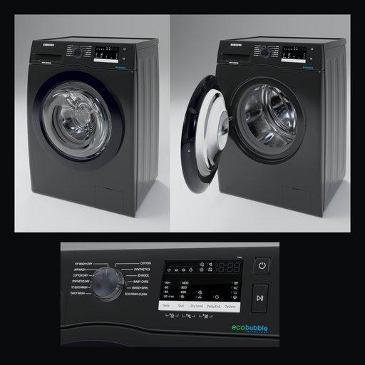 Samsung ww80r421hfx Black Washer