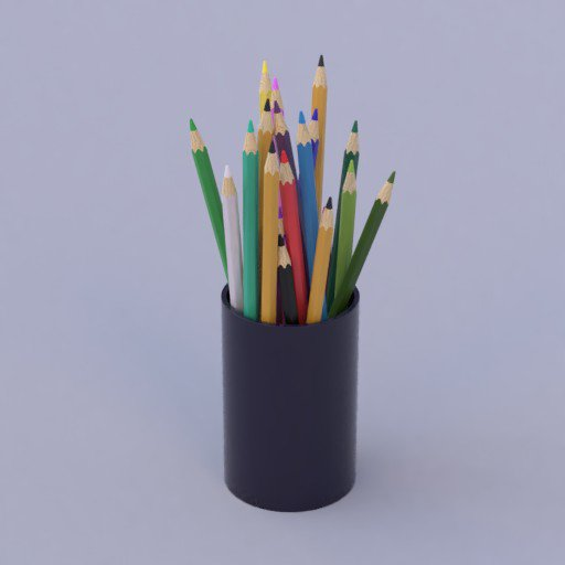 Thumbnail: color pencils in  a cup