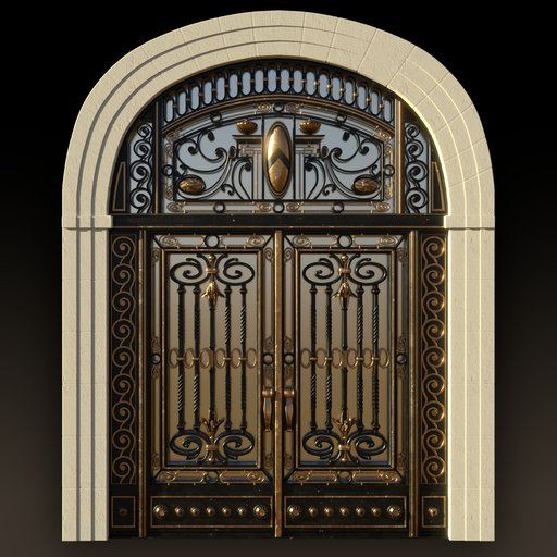 Thumbnail: Art Nouveau Main Gate