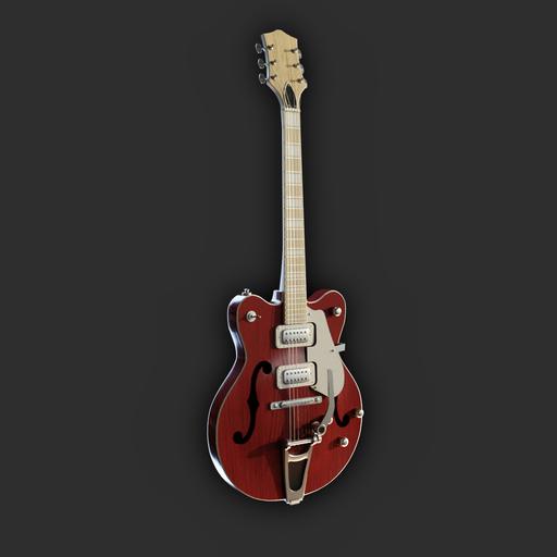 Thumbnail: Hollowbody Electric Guitar (red variant)