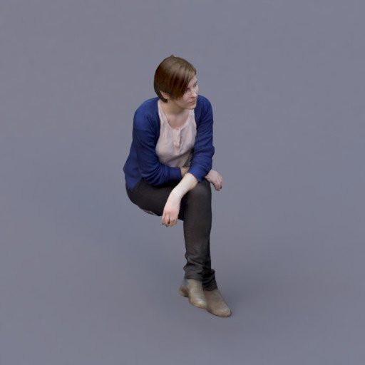 Thumbnail: sitting young lady - Sasa