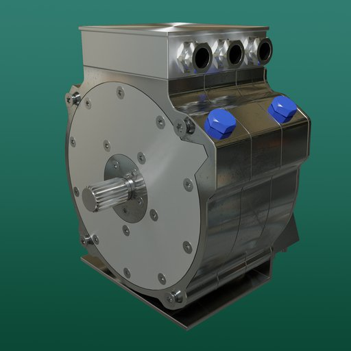 Thumbnail: High performance automotive electric motor