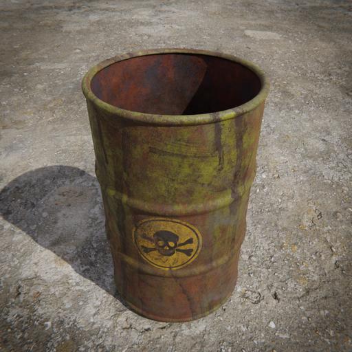 Thumbnail: Toxic Barrel - Yellow