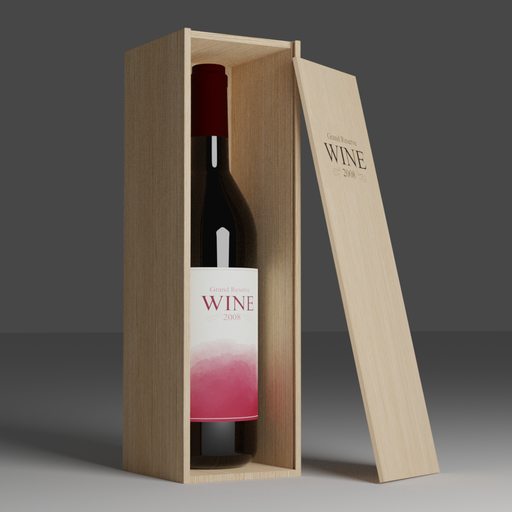 Thumbnail: Red Wine Bottle