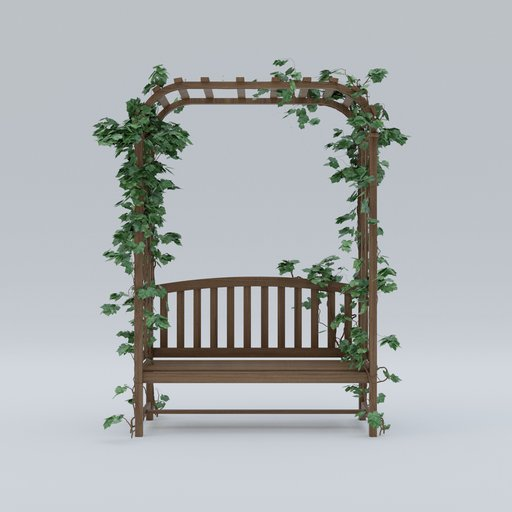 Thumbnail: Bench with plant