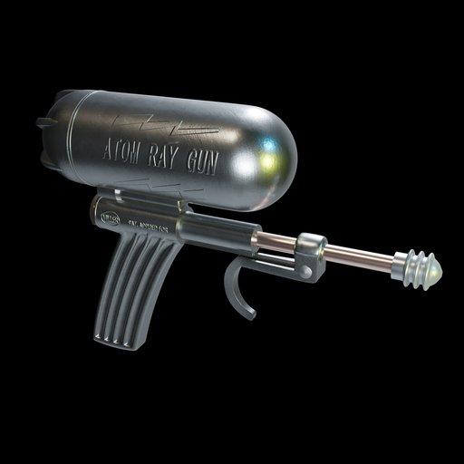 Thumbnail: Atom Ray Gun