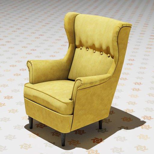The Strandmon Wing Chair.