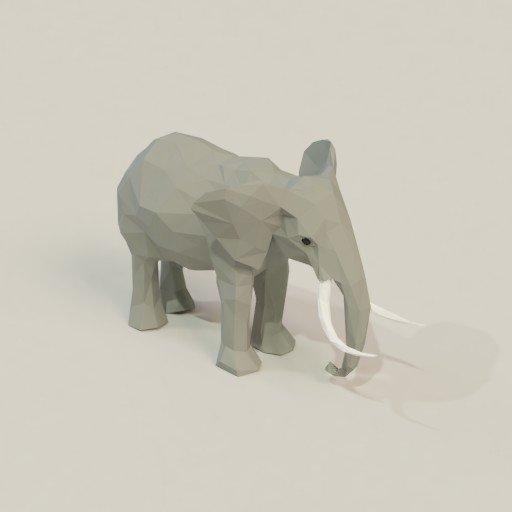 Thumbnail: Low poly elephant