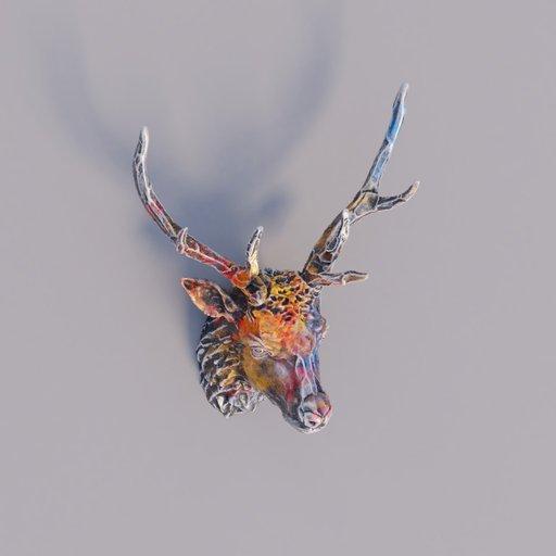 Thumbnail: deer bust