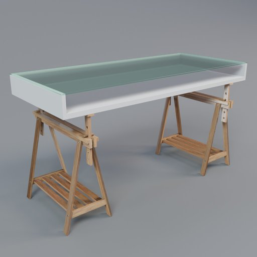 Thumbnail: Studio table with easels