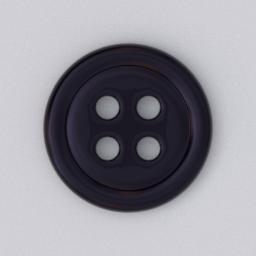 Thumbnail: button 4 holes black