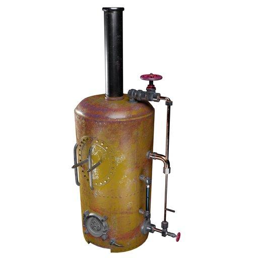 Antique Gas Boiler