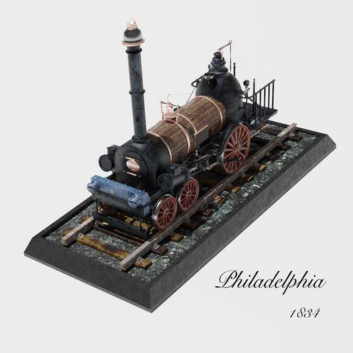 Thumbnail: Philadelphia Steam Engine