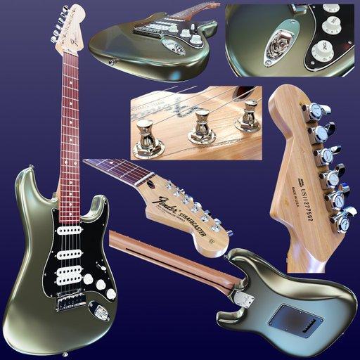 Thumbnail: Hero Asset Detailed Guitar