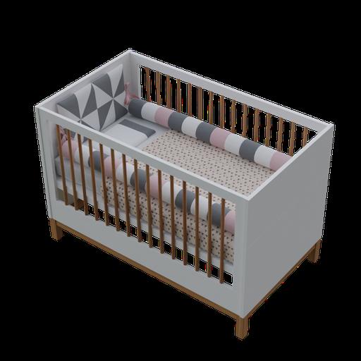 Thumbnail: Crib Mini Bed 2 in 1 + Crib Kit